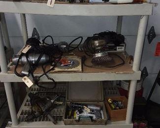 Assorted Tools & Car Parts