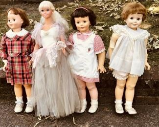 1. Lot of Four 4 MADAME ALEXANDER Dolls