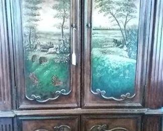 Ornate Entry Cabinet