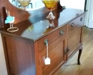 Picture Perfect Side Buffet w/ Mirror