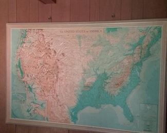 069 MidCentury Map of the United States