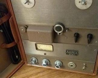 37 Vintage Ampex 601 Reel to Reel Recorder