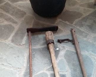 53 Antique Farm Tools