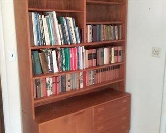 68 MidCentury Teak Bookshelf