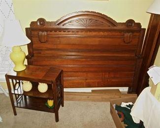 Eastlake Bed Frame, Complete