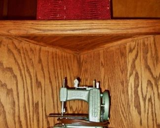 "Vintage ""Betsy Ross"" Child's Sewing Machine"