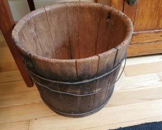 Antique  well bucket.