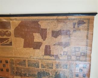 1848 USA map