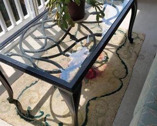 Modern metal  patio table