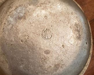 Antique pewter items