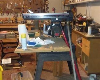 Craftsman radial saw $138