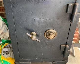 Antique Safe with key