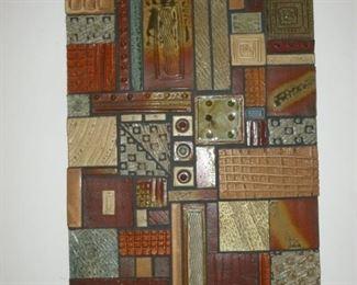 M. Cunningham Pottery Tile