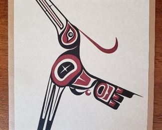 Limited edition Native art card