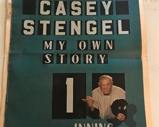 Check out a Casey Stengel
