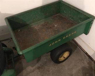 Pull along John Deere