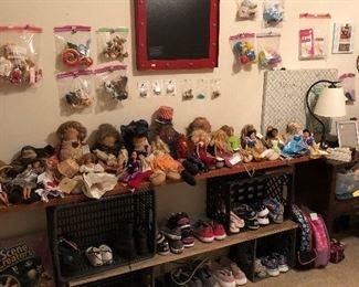 Attic Baby Dolls, Barbie's, Disney Princess, Shoes