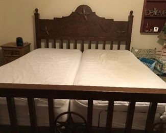 Near New Dual Adjustable King Size Bed