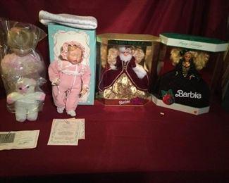 Collectible Doll Lot #4 https://ctbids.com/#!/description/share/180071
