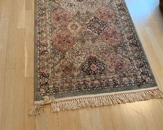 Small foyer rug