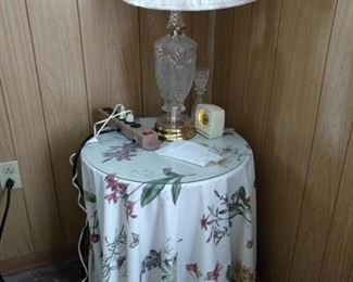 Table cloth, Curtains and King Comforter in this pattern