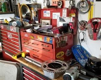 Meters, saws, tools