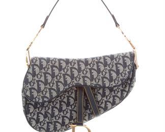 Christian Dior - Diorissimo Saddle Bag