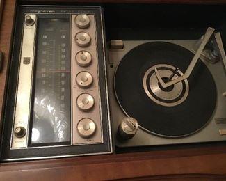 Inside of stereo