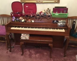 Spinet piano by Cable-Nelson