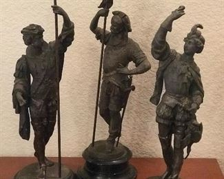 antique bronze statues