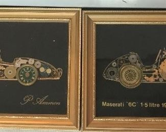 vintage decor made from watches