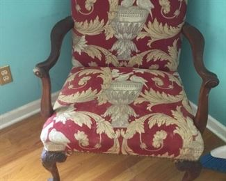 Wonderful antique arm chair