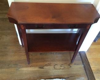 Antique inlaid table