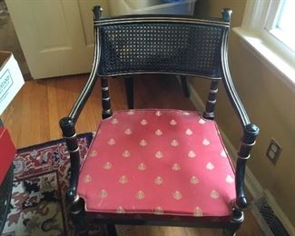 Set of dining room chairs: 2 arms,4 singles