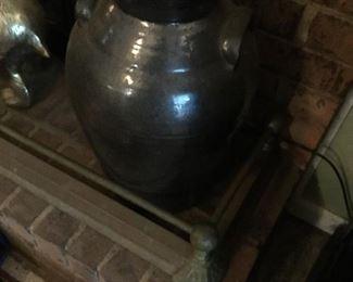 LARGE antique churn