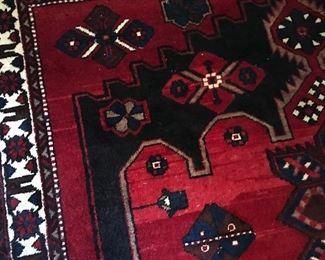 Large oriental rug