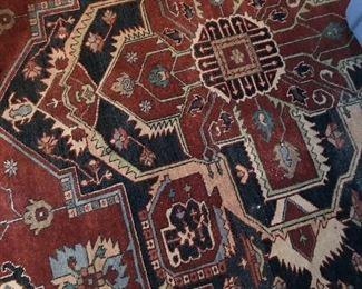 Large 12 x 18 room size oriental rug. $400