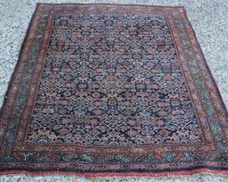 LOT #7008 - VINTAGE TRIBAL WOVEN CARPET