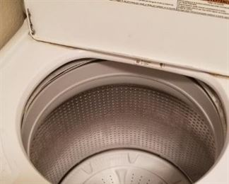 Stainless Maytag washer and dryer set