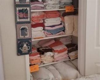 Many linens