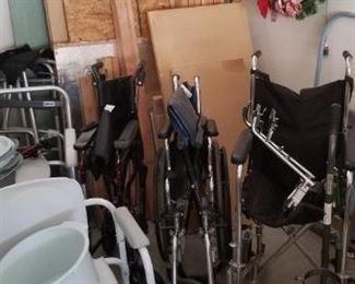 Lots of medical equipment