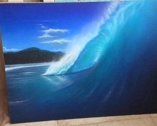 "Wave, 48"" x 36""."