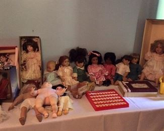 Doll Collection.