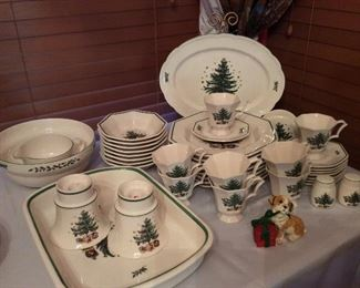 Spode Christmas China.