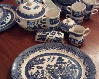 China Set. Churchill, Staffordshire, England.