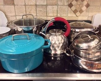 Pots and Cookware.