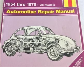 Haynes Automotive Repair Manual: VW Beetle and Karmann Ghia 1954 - 1979.