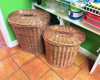 Large Baskets.