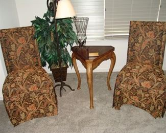 Set of 6 Parsons chairs