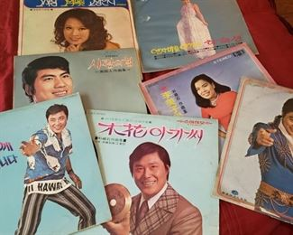 Korean record albums, and other record albums
